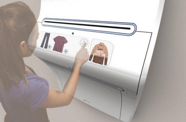 Принтер, печатающий одежду